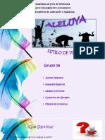 Grupo 5ALELUYA Presentacion.