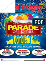 Real Estate Weekly - Parade of Homes Issue 1 - 10/7/2010