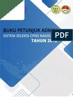 Buku Petunjuk Administrator Instansi Sscn 2018