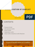 chapt 6 classification conflict