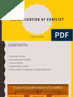 chapt 6 classification conflict