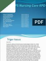 PS Nursing Care KPD Kel 3 Reg 2