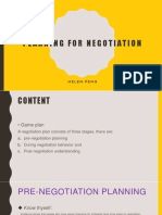 chap9 planning for negotiation