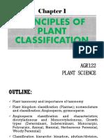 CHAPTER 1 Plant Classification Principles