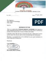 Pastor Referenc Letter