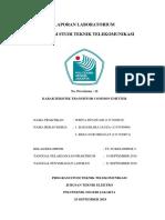 12 KELl02 TT3C Widya Intawani - KARAKTERISTIK TRANSISTOR COMMON EMITTER