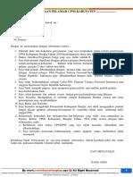 Surat Pernyataan CPNS 2018