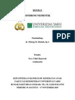 REFERAT SINDROM NEFROTIK OLEH NEVY ULFAH HANAWATI 1102014192.docx