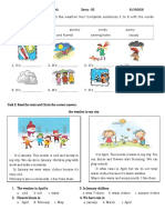 Grade 3-Lesson 7- Weather Forecast--For Class Activity-telling Weather-01.10.18