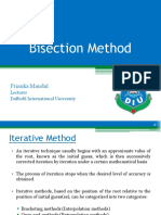 02. Bisection Method