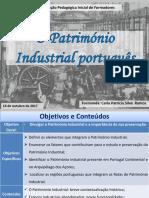 Património industrial em portugal - Carla Ramos