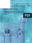 Fatigue and Fracture Mechanics of Offshore Structures