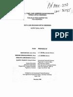 Tabel komposisi bahan makanan ternak untuk indonesia (PNAAR370)