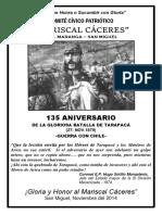 """Mariscal Cáceres"""
