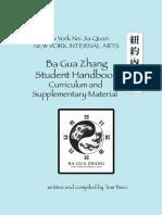 Ba Gua Student Handbook by Tom Bisio