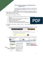2013-Publicacion Del TFM en RUO