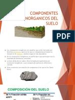 COMPONENTES INORGÁNICOS DEL SUELO