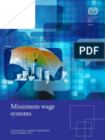 Minimum wage systems