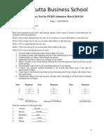 Admission-Model Qus (1)