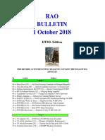 Bulletin 181001 (HTML Edition)