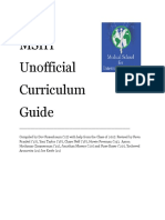 curriculum guide 2022