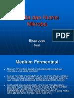 Media Dan Nutrisi Mikroba