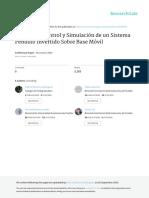 Modelado, Control y Simulación de Un Sistema Péndulo - Gabriel Romero Rodríguez