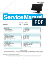 Manual de Servico Monitor AOC HP LP2275w
