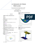 multivariable calculus matlab guide