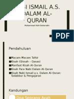 Nabi Ismail a.s. Dalam Al-Quran