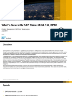 SAP BW4 SP8
