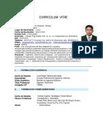 CURRICULUM  VITAE no Documentado.docx