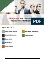 Oligopoly (Economics Project Topics)