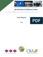 Bermuda Business Confidence Index Report - 2018