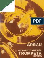 ARBAN, J. - Gran método para Trompeta