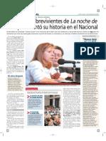 Entrevista Noche de Los Lapices
