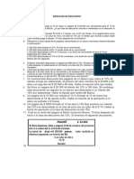 Ejercicios de Descuento (1)