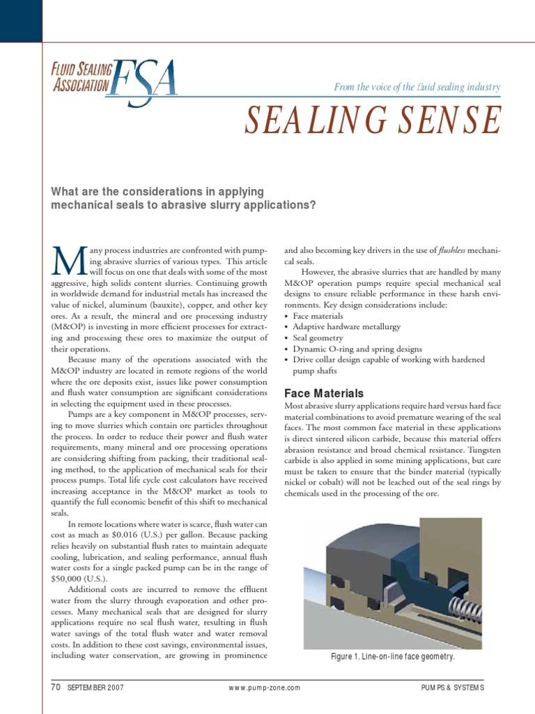 Pump Sealing   Pump   Wastewater