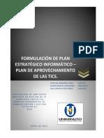 Planestratégico de Las Tic