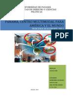 Panamá, Centro Multimodal Para América
