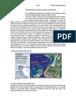 Delimitación Limítrofe Del Espacio Marítimo Ecuatoriano Según La Línea Bisectriz