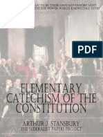 Elementary Catechism of the Constitution
