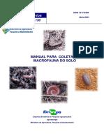 MANUAL PARA COLETA DE MACROFAUNA DO SOLO.pdf