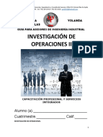 Guia 2018 de Investigación de Operaciones 1