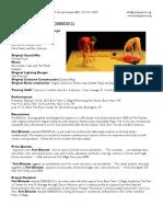 Fort Blossom Revisited Press Kit