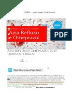 Azia Refluxo Esófago 2017_ Omeprazol e Antiacidos IBPs Podem Se