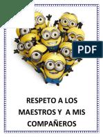 Regla Men to Del Grupo