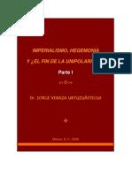 IMPERAILISMO-HEGEMONIA Y EL FIN DE LA UNIPOLARIDAD