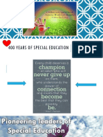 historical foundation of special education