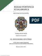Tesis Hedonismo Epicureo Salamanca